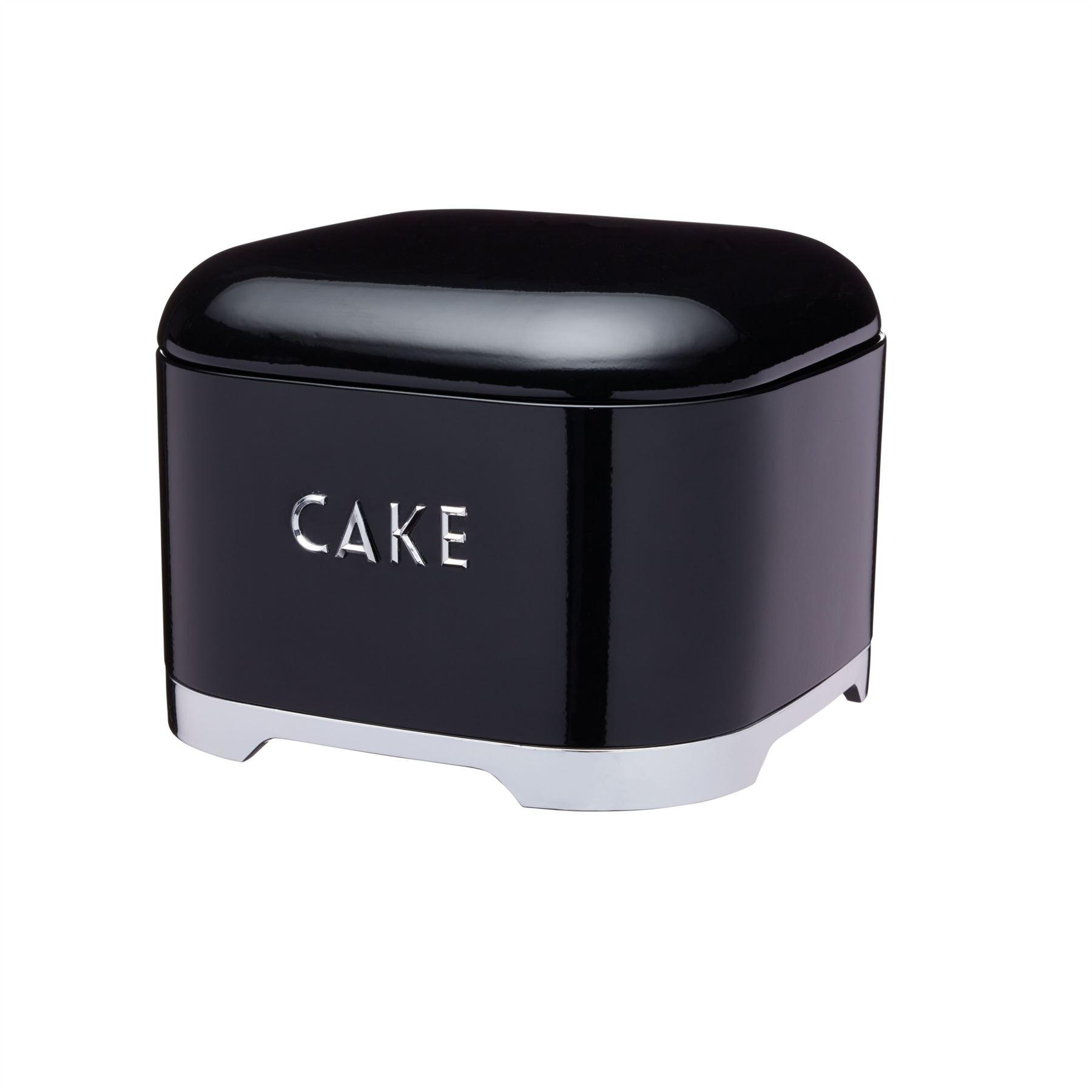 KitchenCraft-Lovello-Cake-Storage-Tin-in-Black-Red-or-Cream