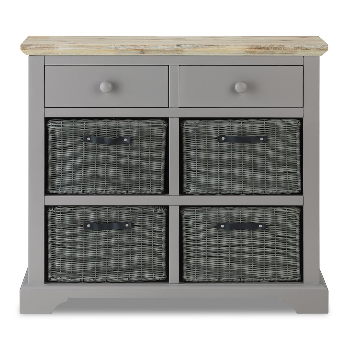 Florence Sideboard with drawers& 4 storage baskets Stunning sideboard ASSEMBLED eBay