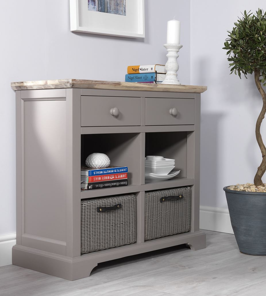 Florence Sideboard With Drawers Amp 4 Storage Baskets