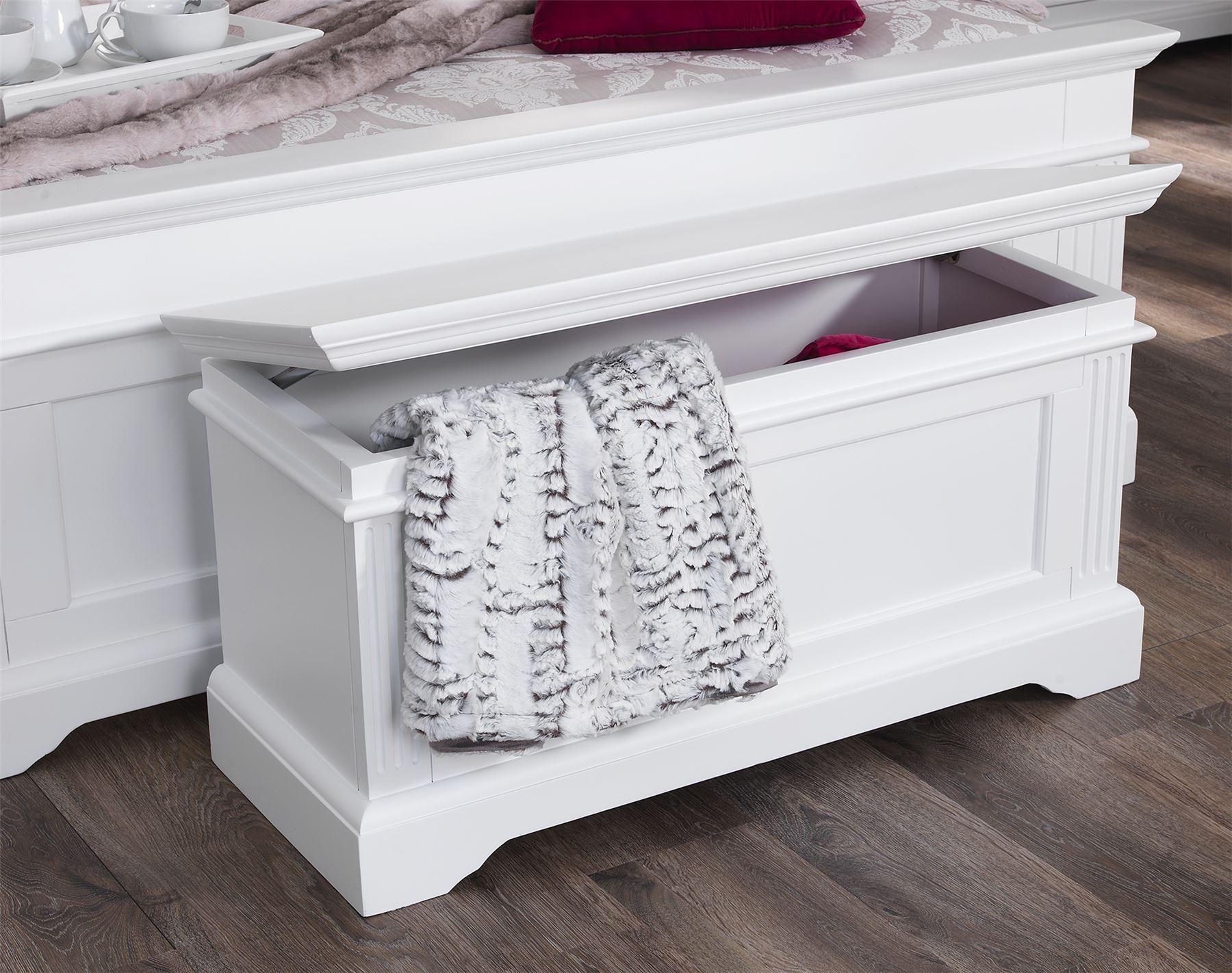 Gainsborough White Bedroom Furniture, Bedside Cabinets