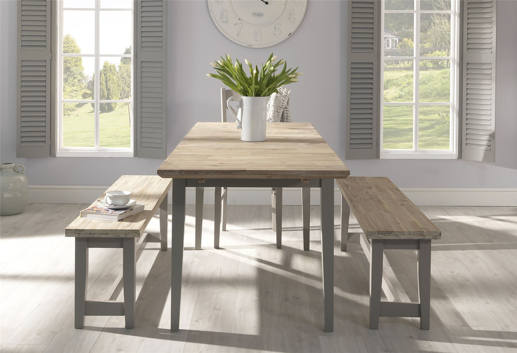 Florence Dining Bench 140cm Long Quality Wooden Bench In