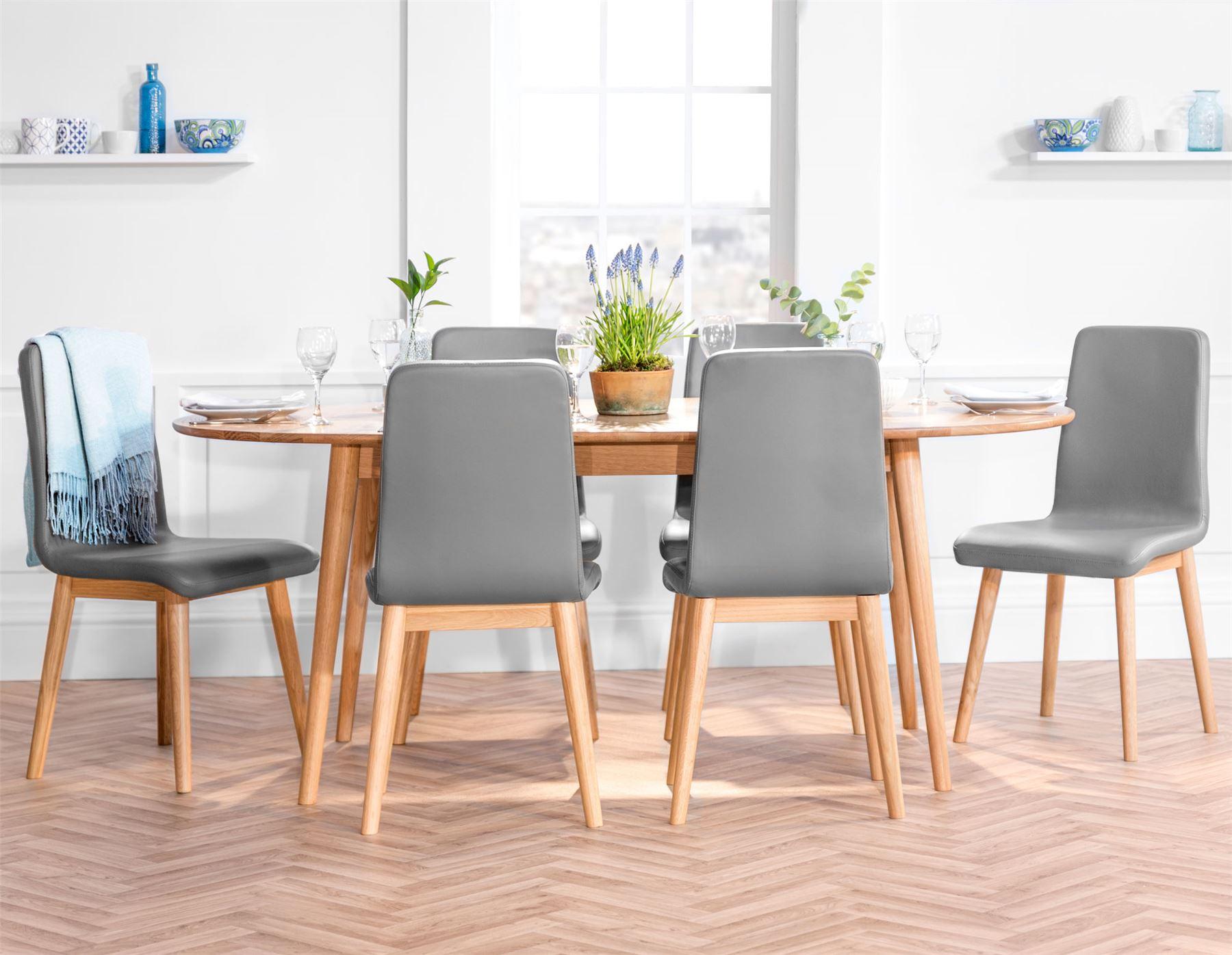 edvard olsen dining tablesize choice solid oak extending