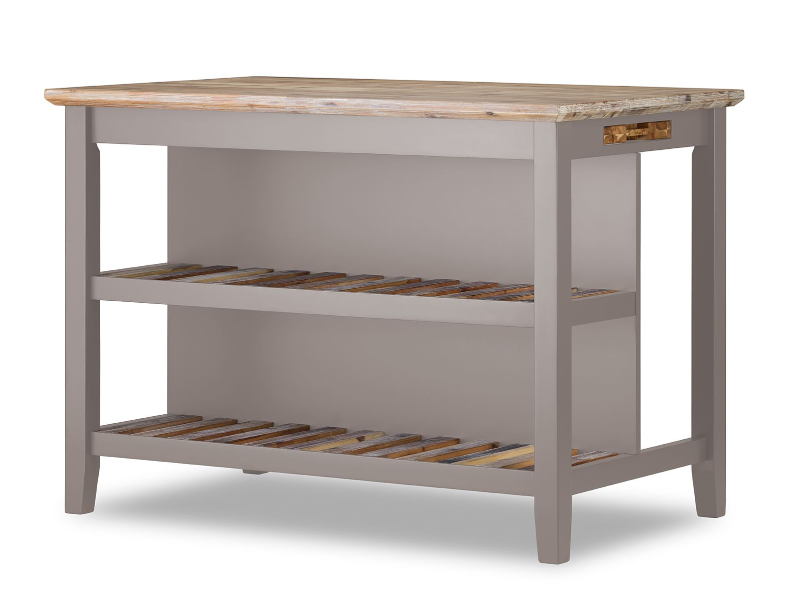 Wondrous Details About Florence Breakfast Bar With 2 Large Shelves Small Kitchen Island With Storage Dailytribune Chair Design For Home Dailytribuneorg
