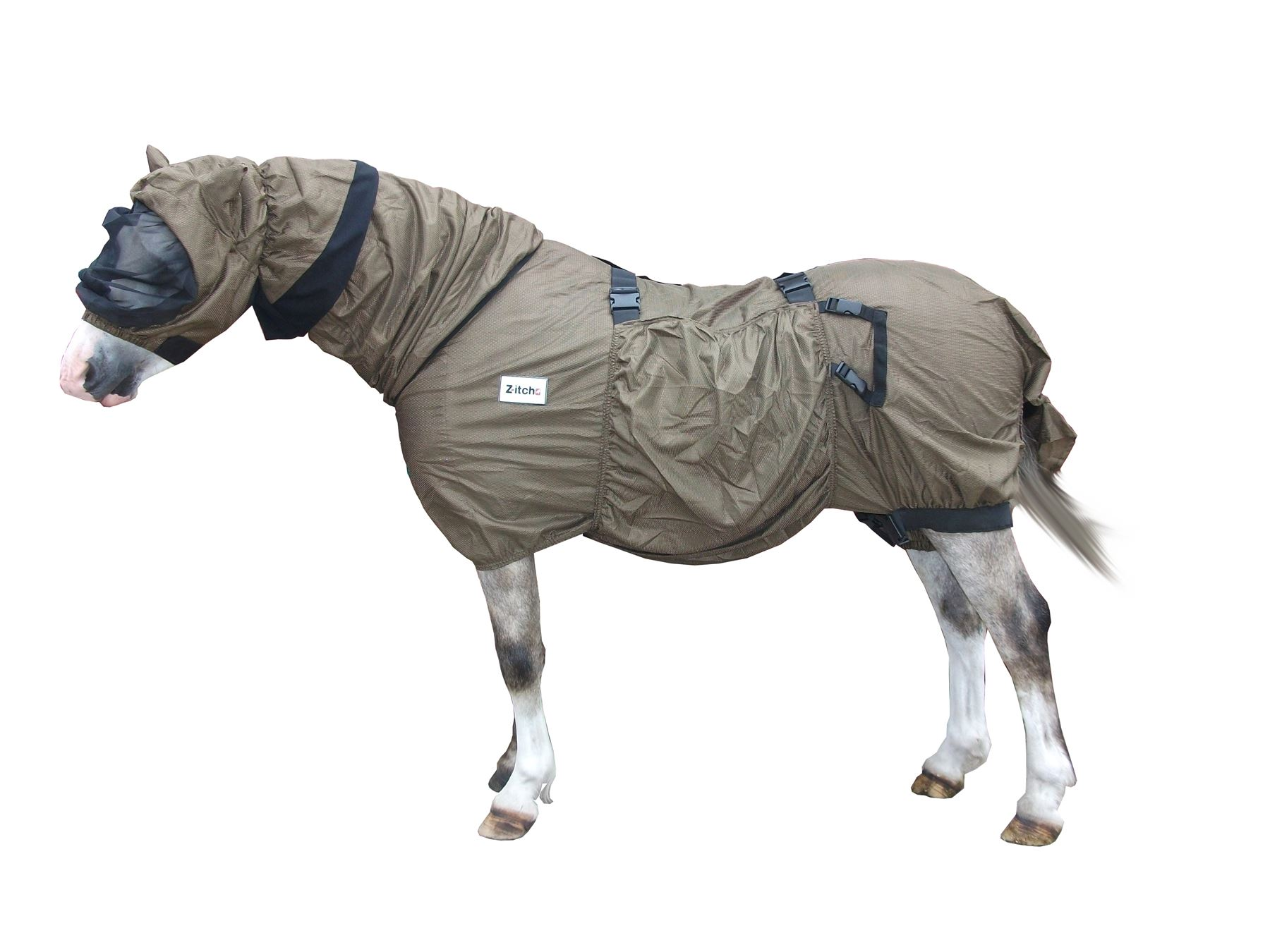 Z-Itch Prurito  Coperta C W Hood Equino Cavallo Mosca ,  great selection & quick delivery