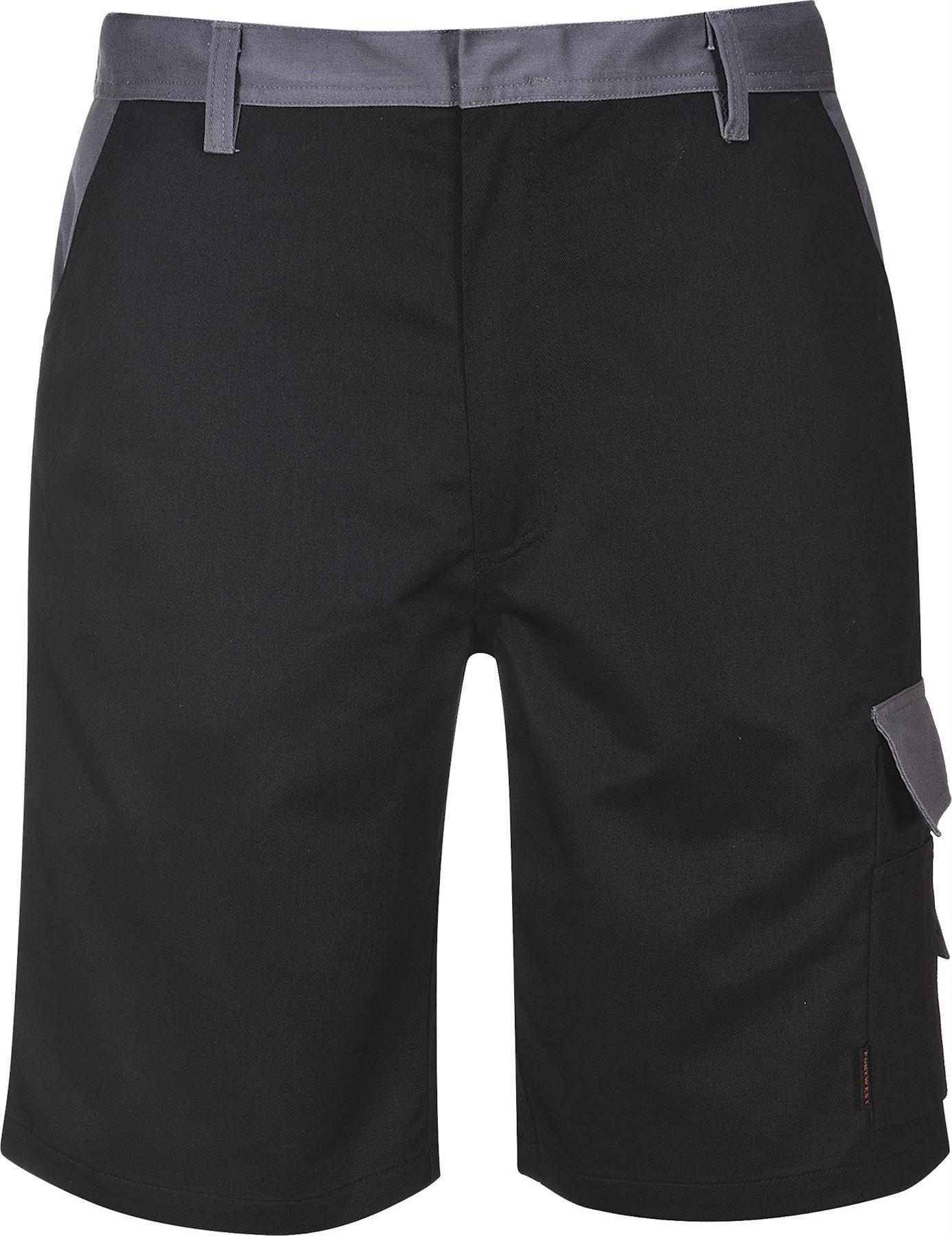 Portwest Cologne Shorts Combat Cargo Pockets Elastic Back Workwear TX37