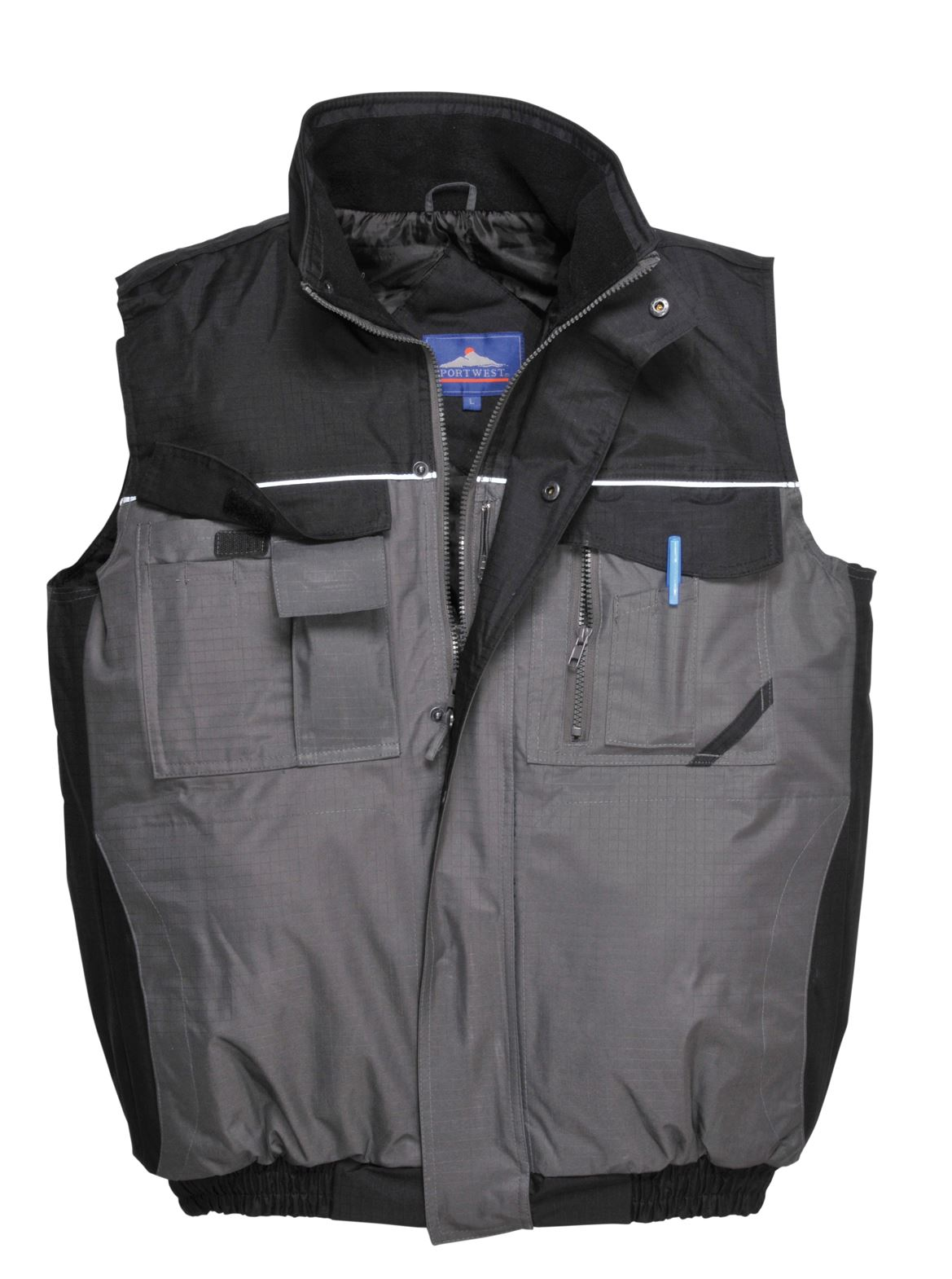 Gilet Matelassé Gilet Gilet 2tone imperméable multi poches S560 workwear outdoors S560 poches 436b67