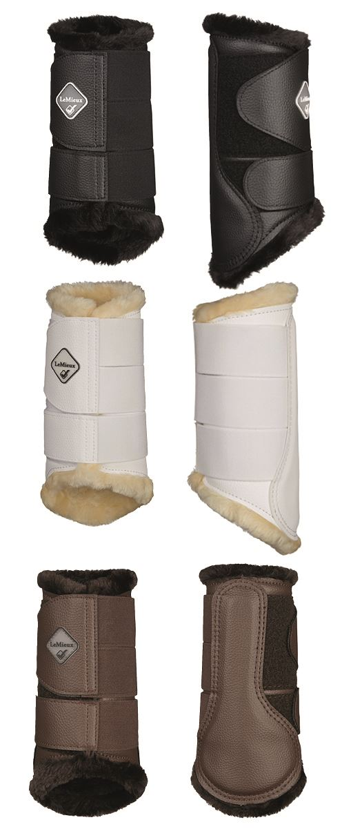 Competition Schooling Turnout Dressage Boots LeMieux Grafter Brushing Boots