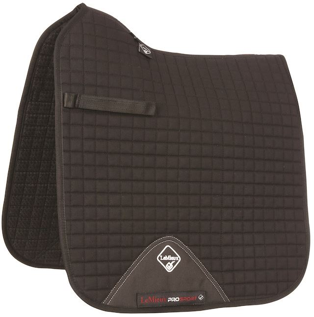 LeMieux ProSport Dressage Square (Standard Strap) Saddle Cloth Pad/ Cloth Saddle Größe L 1423P 8edfcd