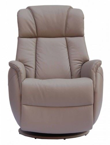 Elegant Sorrento Leather Electric Recliner Chair Swivel Recliner Rocking