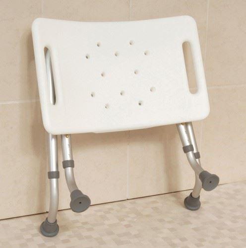 Easy Folding Travel Portable Shower Stool Bathroom Seat