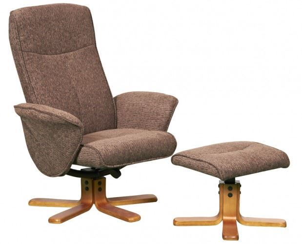 Picture 2 of 2  sc 1 st  eBay & Thetford Swivel Recliner Chair Reclining Armchair Footstool ... islam-shia.org