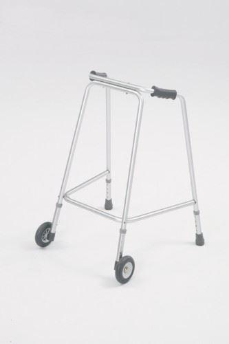 Lightweight Aluminium Adjustable Wheeled Walker Walking Frame ...