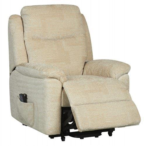 Evesham-Fabric-Electric-Dual-Motor-Riser-Recliner-Chair-  sc 1 st  eBay & Evesham Fabric Electric Dual Motor Riser Recliner Chair Rise ... islam-shia.org