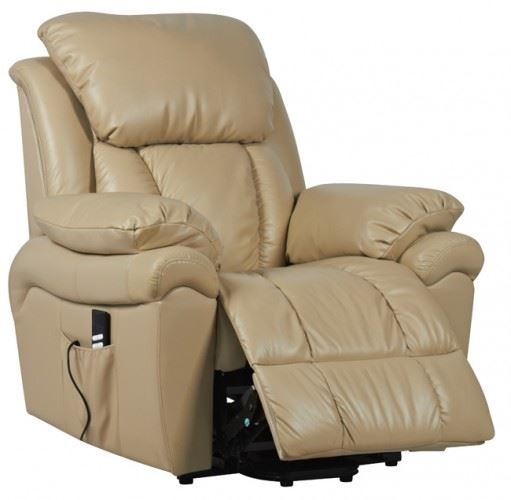 Luxor Dual Motor Leather Riser Recliner Chair Rise Recline Armchair EBay