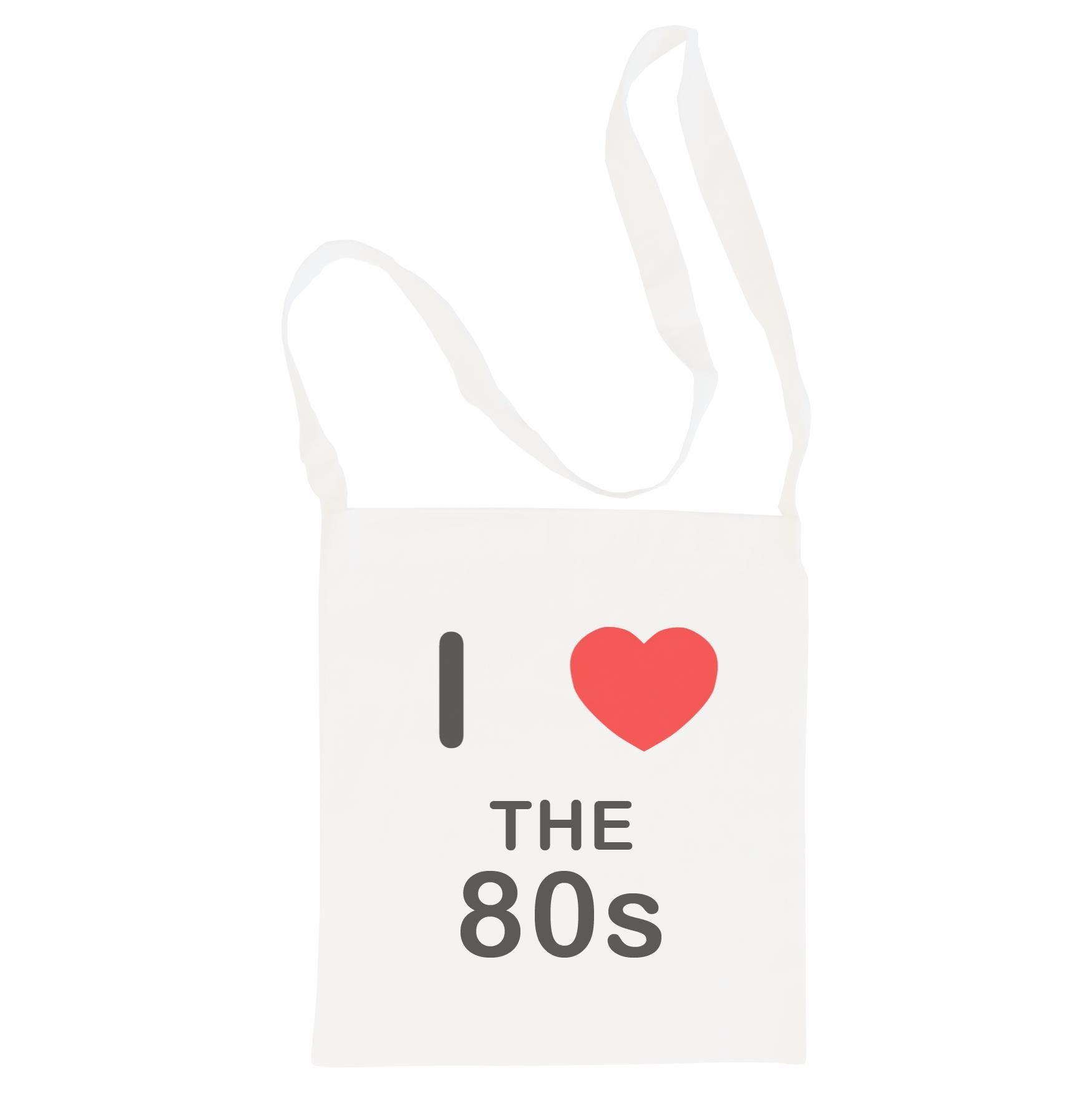 I Love The 80's - Cotton Bag | Size choice Tote, Shopper or Sling