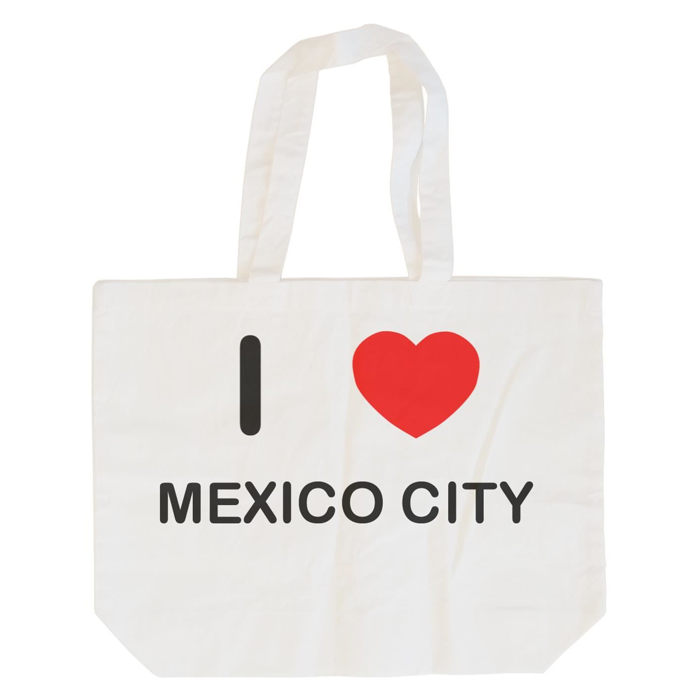 I Love Mexico City - Cotton Bag | Size choice Tote, Shopper or Sling