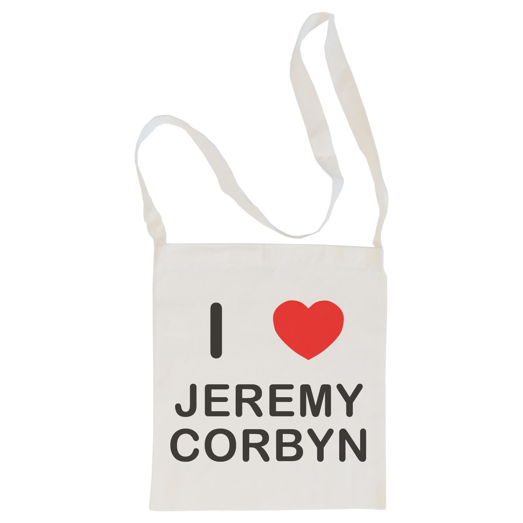 I Love Jeremy Corbyn - Cotton Bag | Size choice Tote, Shopper or Sling