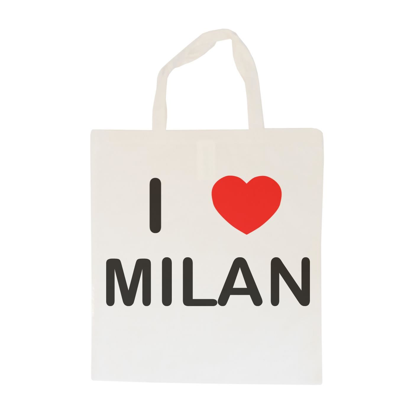 I Love Milan - Cotton Bag | Size choice Tote, Shopper or Sling