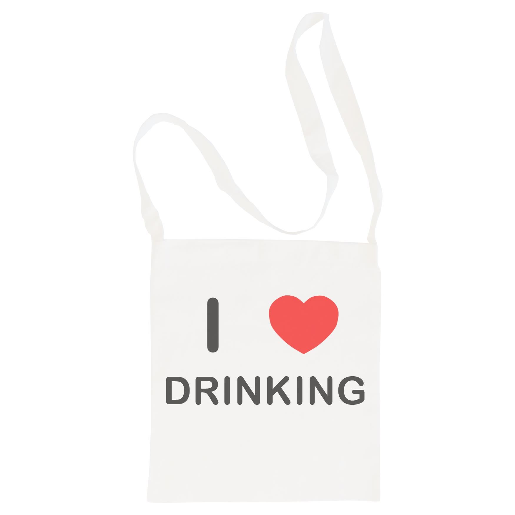 I Love Drinking - Cotton Bag | Size choice Tote, Shopper or Sling