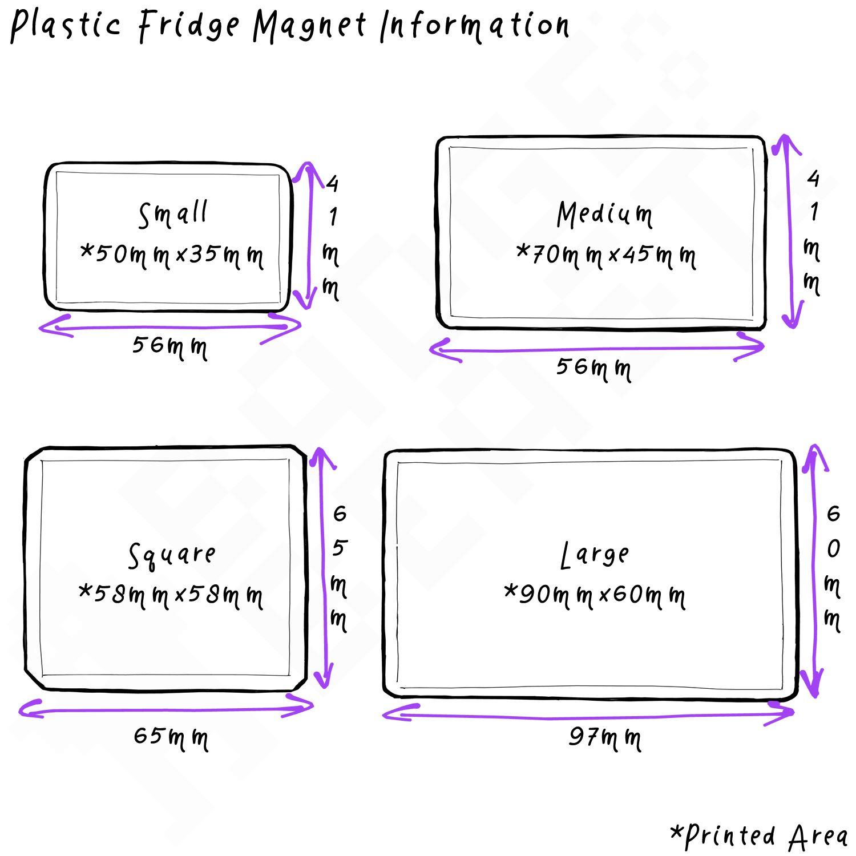 Decoration Fun BadgeBeast Button Badge Fridge Magnet Milk /& Juice Cartons