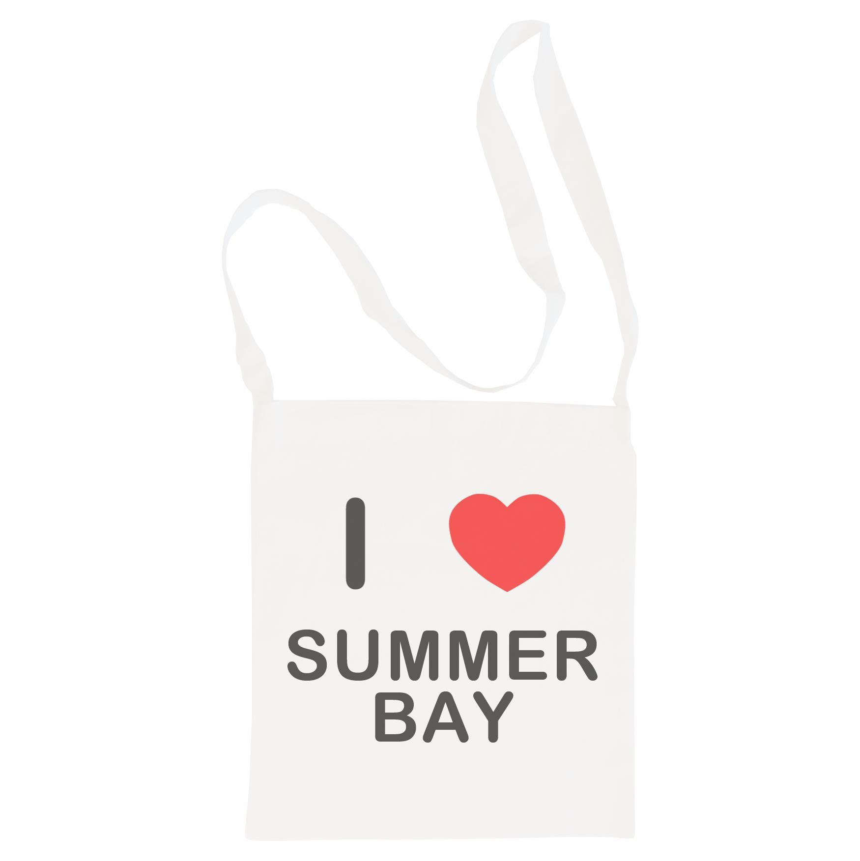 I Love Summer Bay - Cotton Bag | Size choice Tote, Shopper or Sling