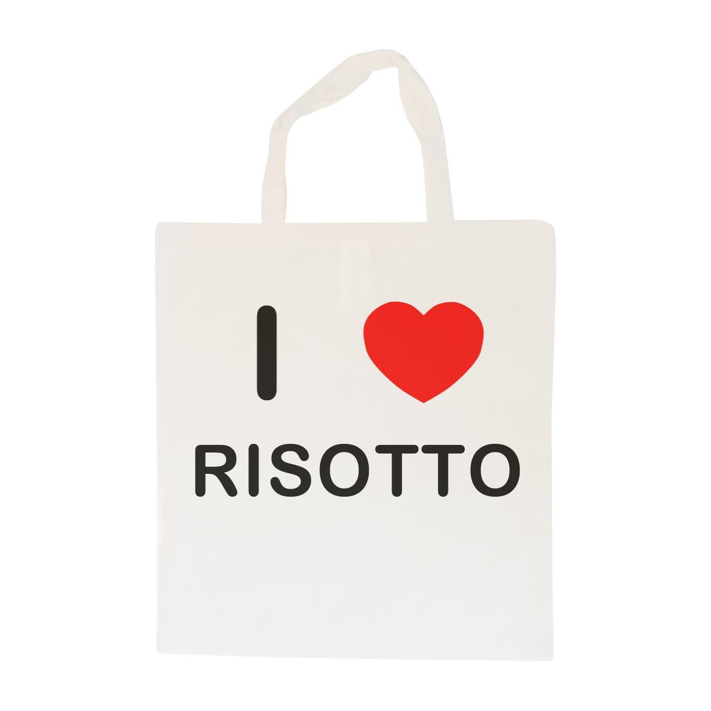 I Love Risotto - Cotton Bag | Size choice Tote, Shopper or Sling