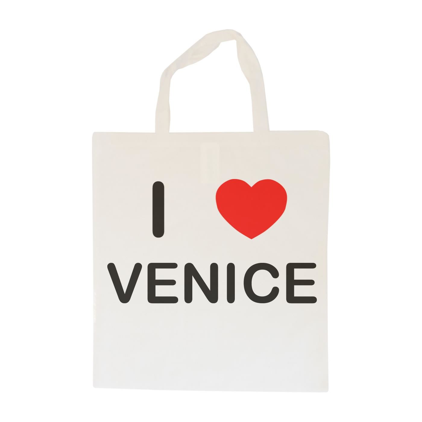I Love Venice - Cotton Bag | Size choice Tote, Shopper or Sling