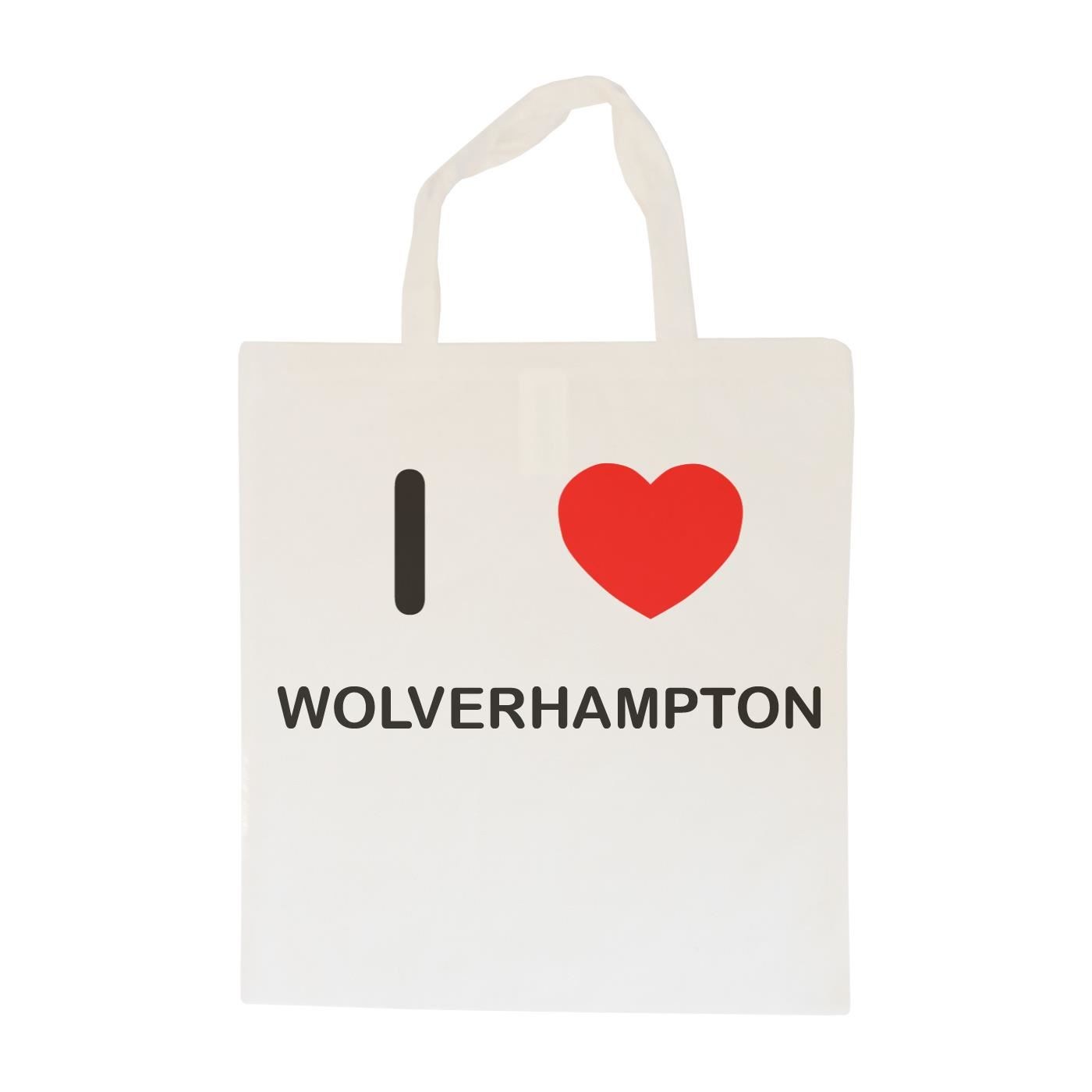 I Love Wolverhampton - Cotton Bag | Size choice Tote, Shopper or Sling