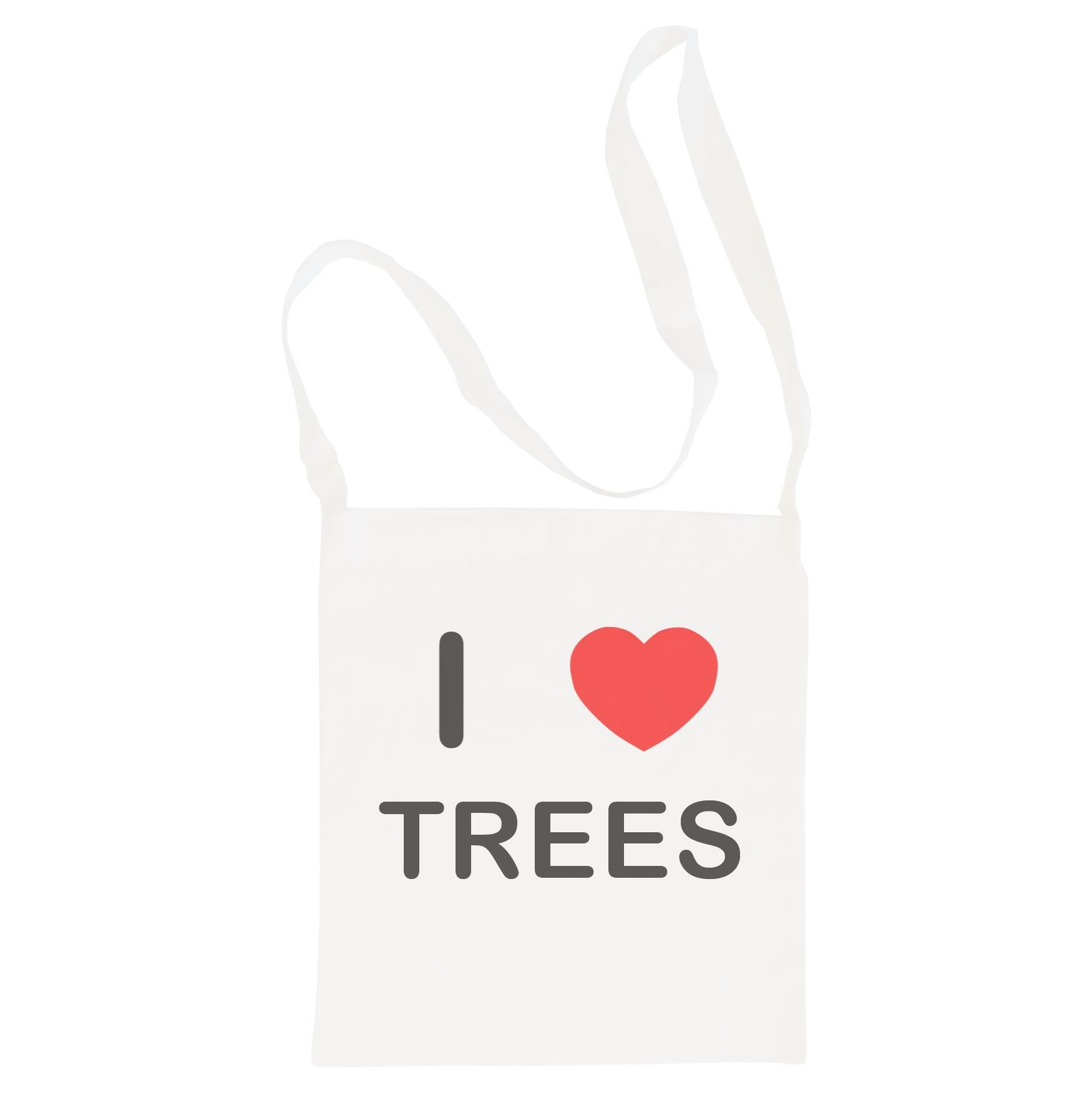 I Love Trees - Cotton Bag | Size choice Tote, Shopper or Sling