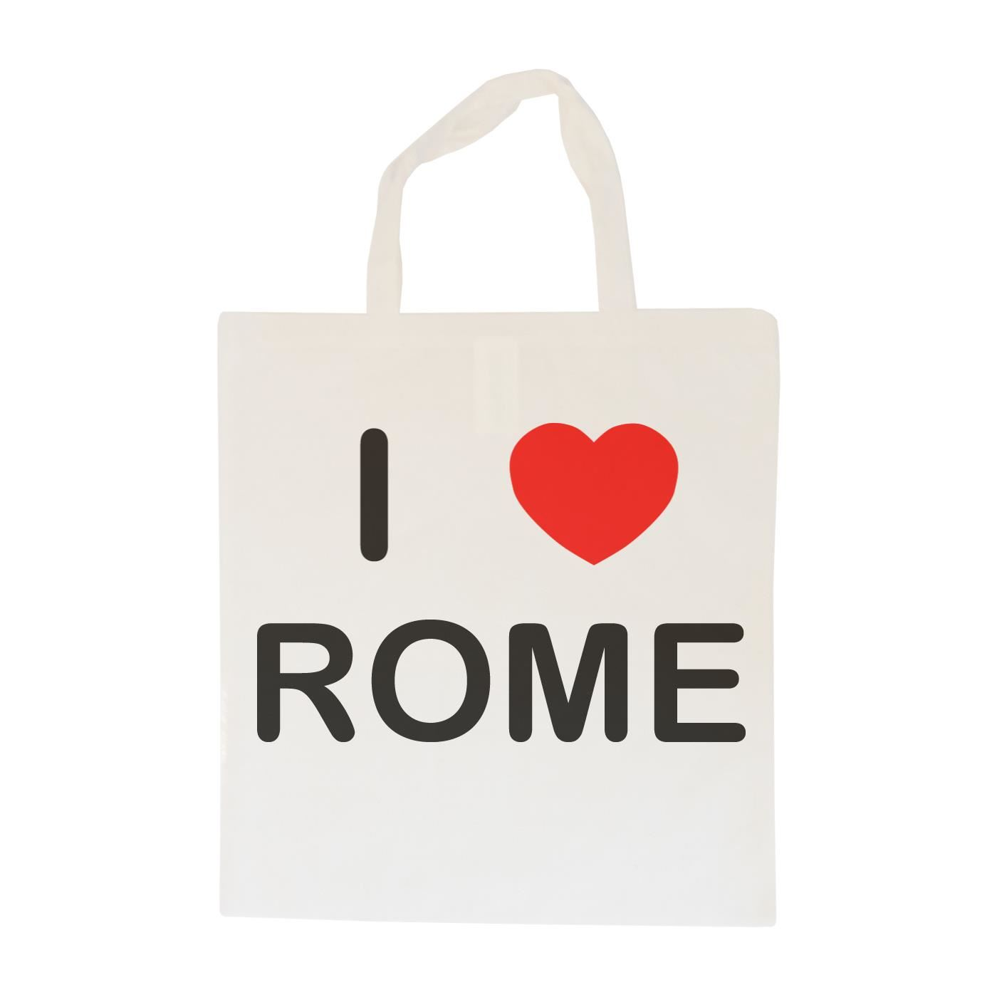 I Love Rome - Cotton Bag | Size choice Tote, Shopper or Sling