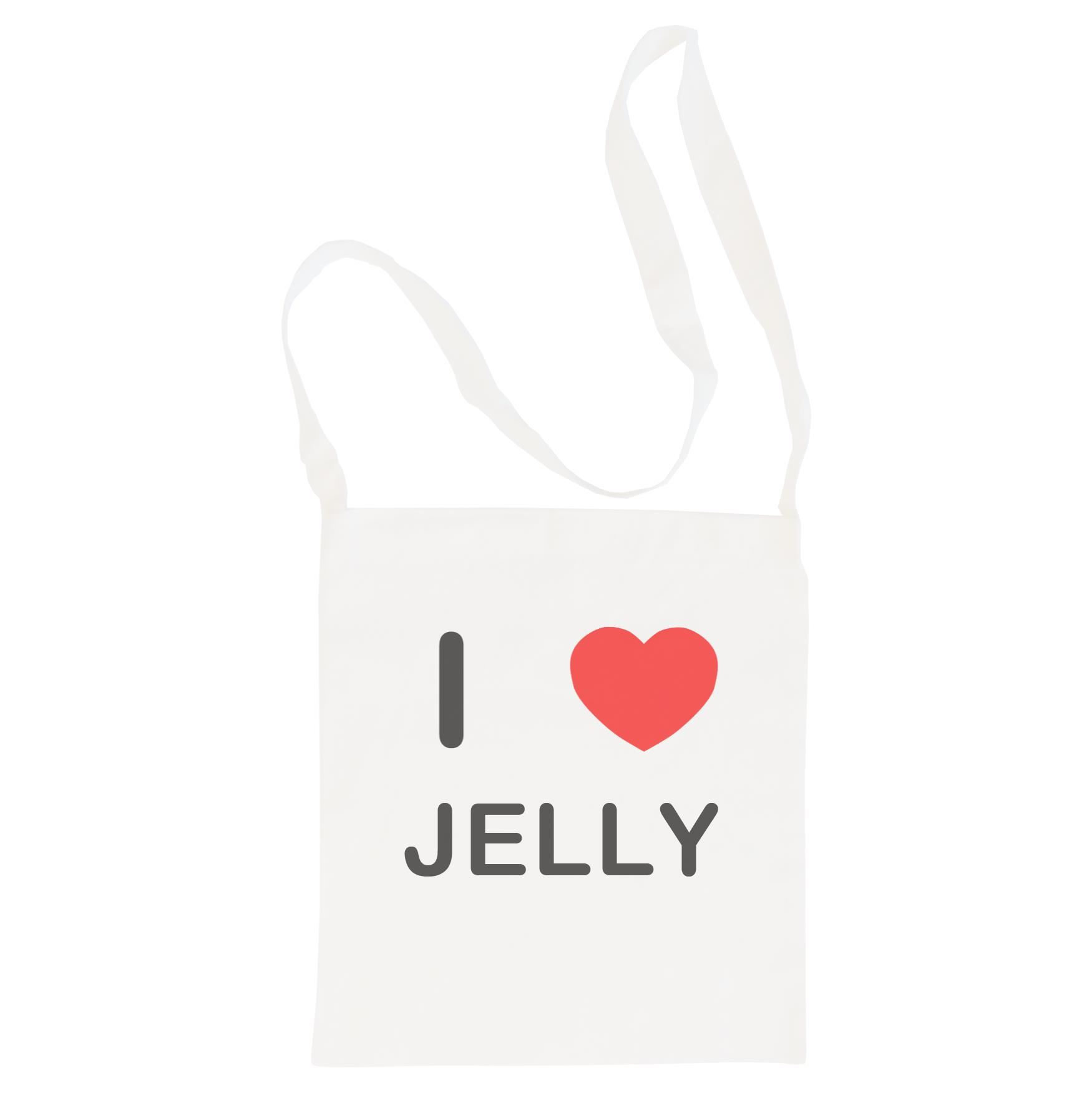 I Love Jelly - Cotton Bag | Size choice Tote, Shopper or Sling