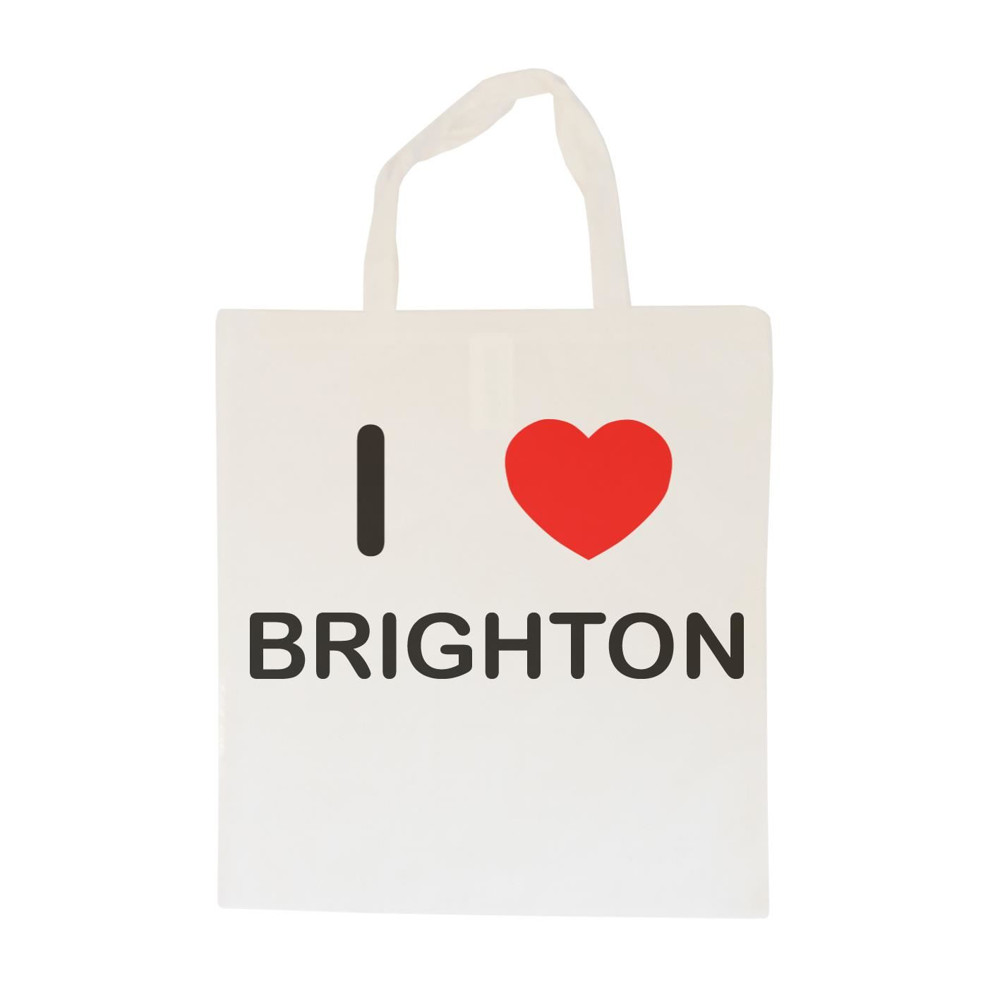 I Love Brighton - Cotton Bag | Size choice Tote, Shopper or Sling