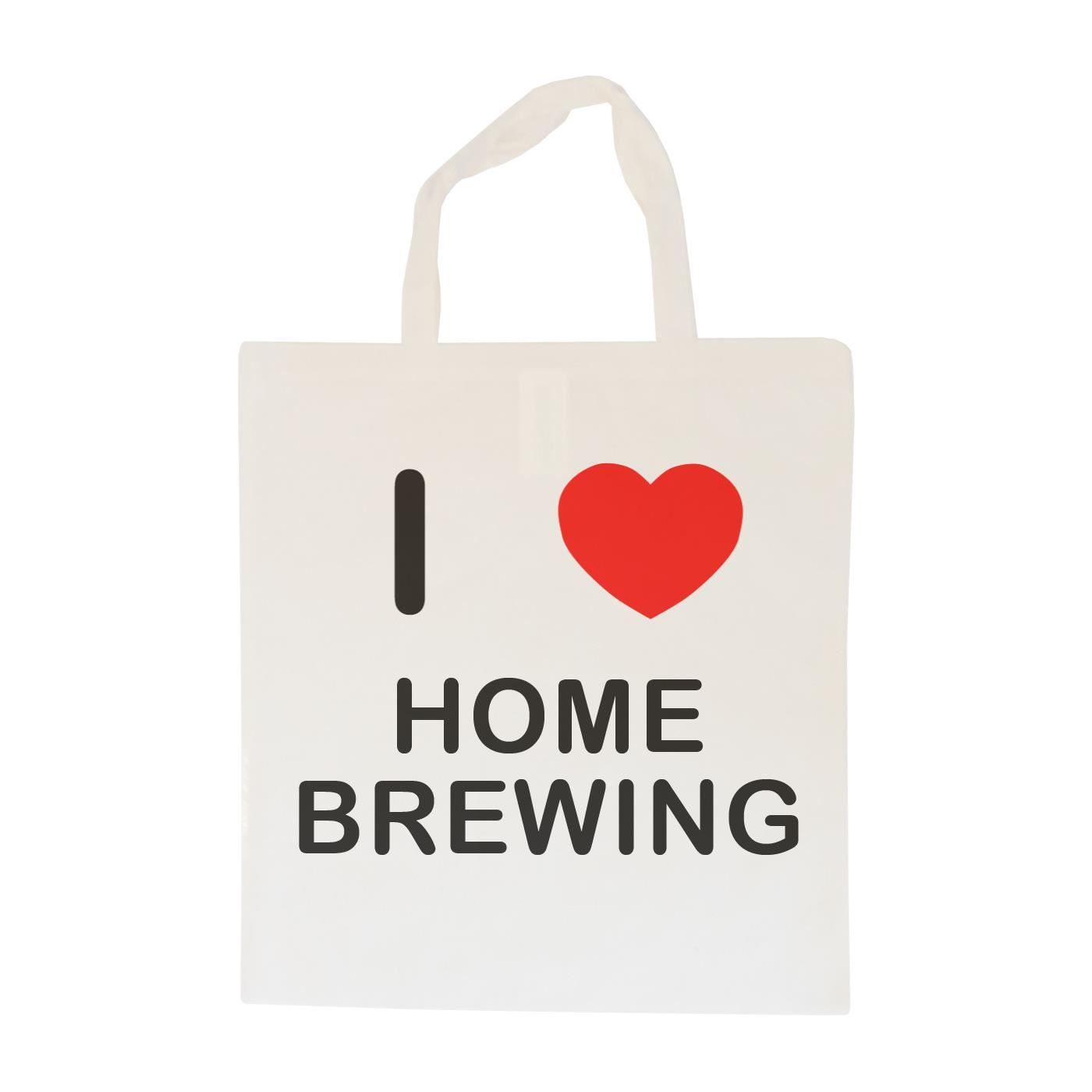 I Love Home Brewing - Cotton Bag | Size choice Tote, Shopper or Sling