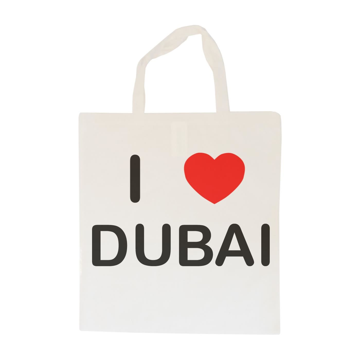 I Love Dubai - Cotton Bag | Size choice Tote, Shopper or Sling
