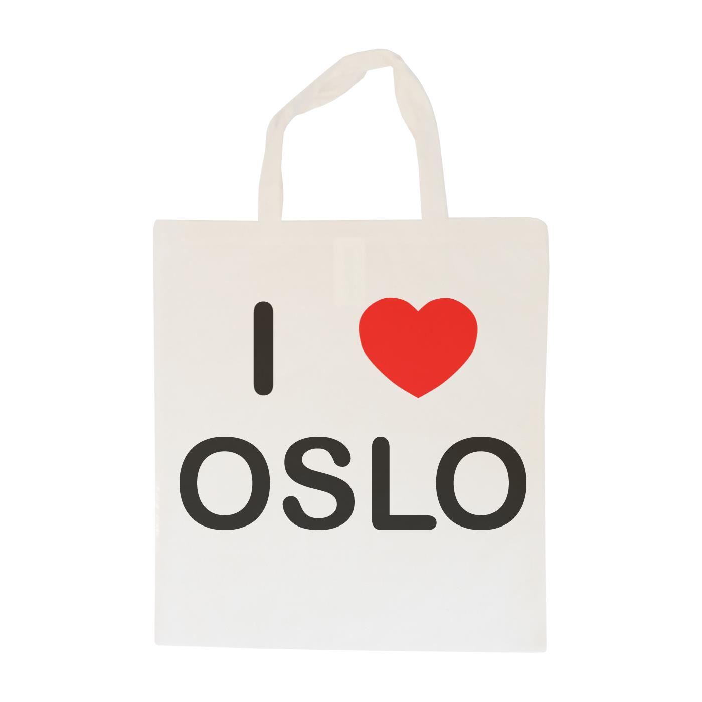 I Love Oslo - Cotton Bag   Size choice Tote, Shopper or Sling