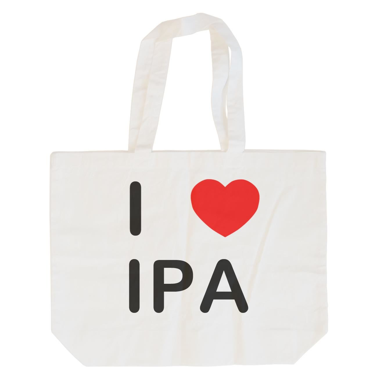 I Love IPA - Cotton Bag | Size choice Tote, Shopper or Sling