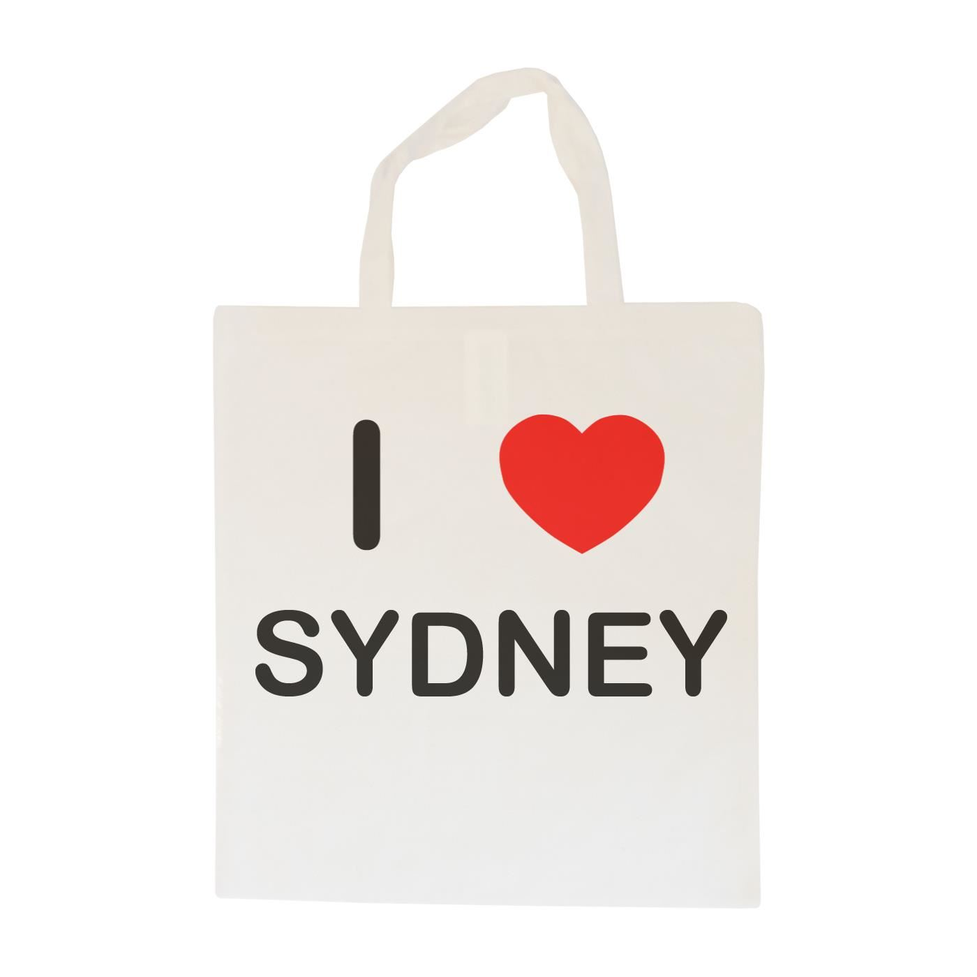 I Love Sydney - Cotton Bag | Size choice Tote, Shopper or Sling