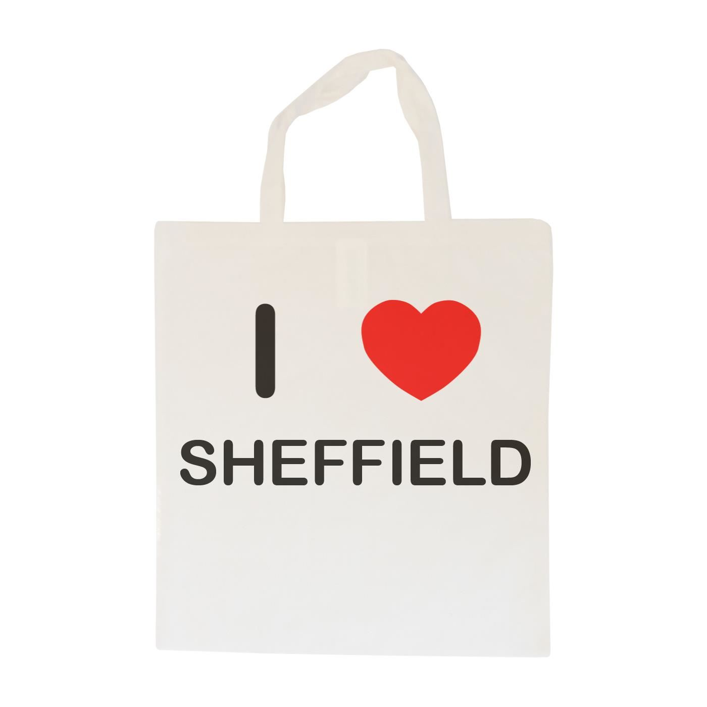I Love Sheffield - Cotton Bag | Size choice Tote, Shopper or Sling