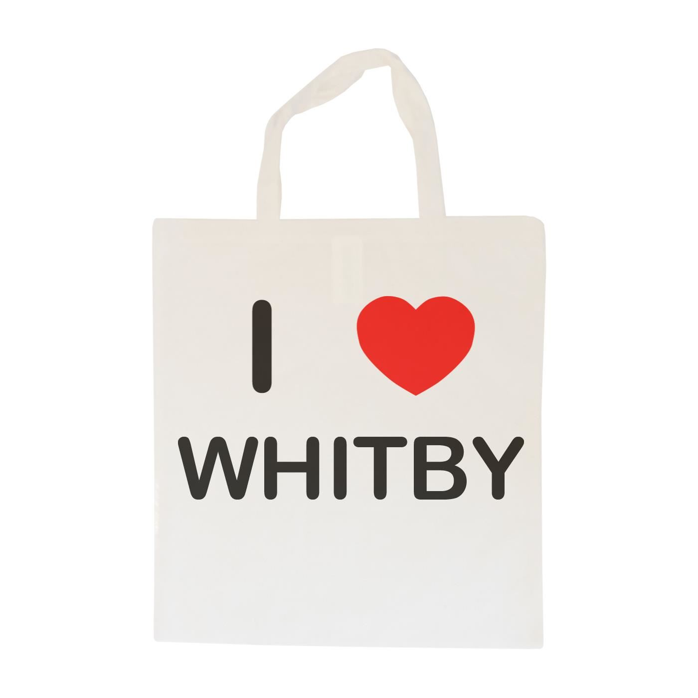I Love Whitby - Cotton Bag | Size choice Tote, Shopper or Sling