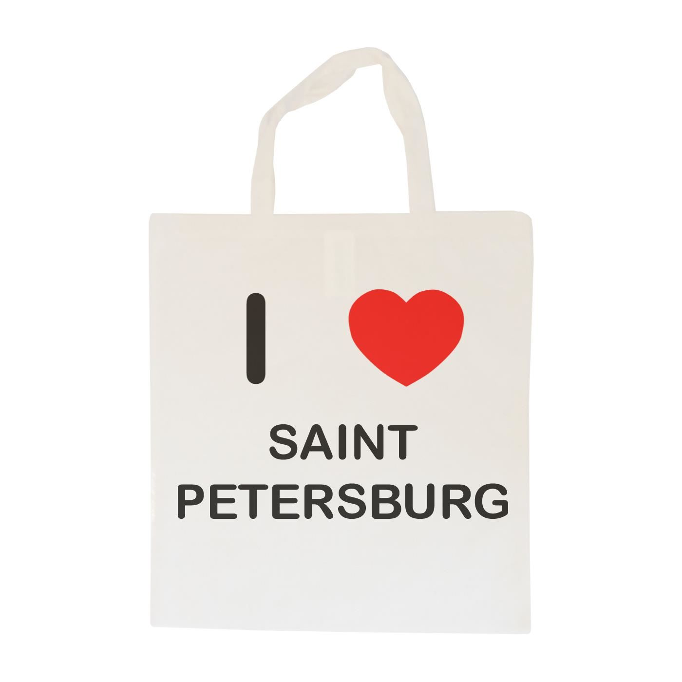 I Love Saint Petersburg - Cotton Bag | Size choice Tote, Shopper or Sling