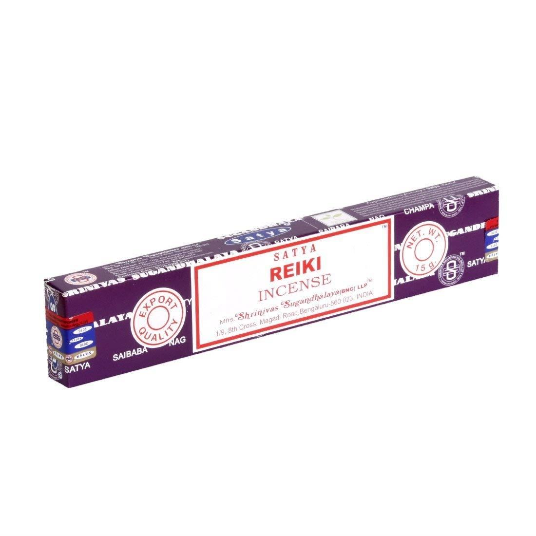 Satya Genuine 15g Incense Sticks - Reiki 8904245400026 | eBay