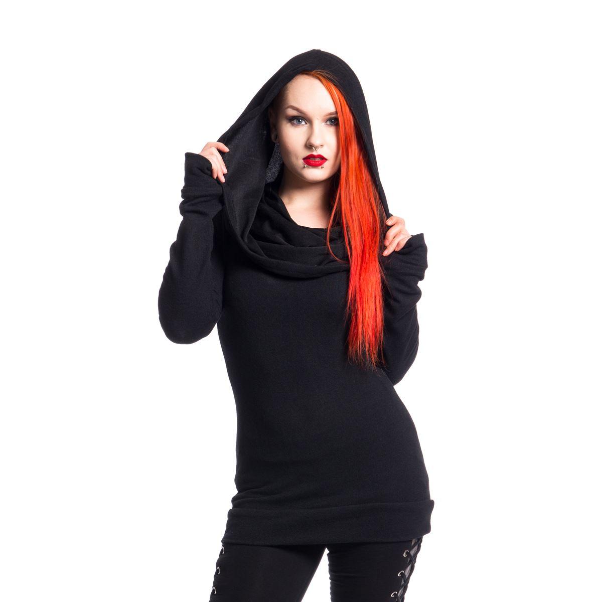 Vixxsin Purity Top Ladies Black Goth Emo Punk