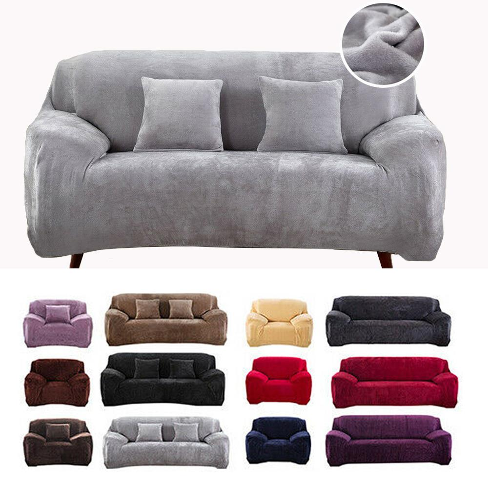 Lounge Protector Slipcovers Super Stretch Sofa Cover Couch 1//2//3 Seater Covers