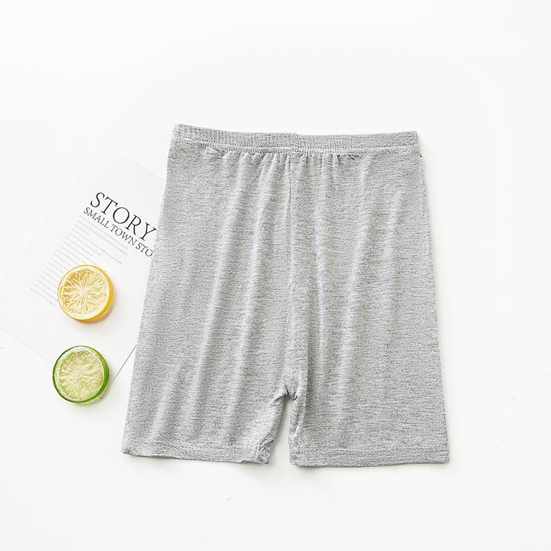 JS One Girls Plain Breathable Cotton Stretchy Casual Sports Shorts Kids