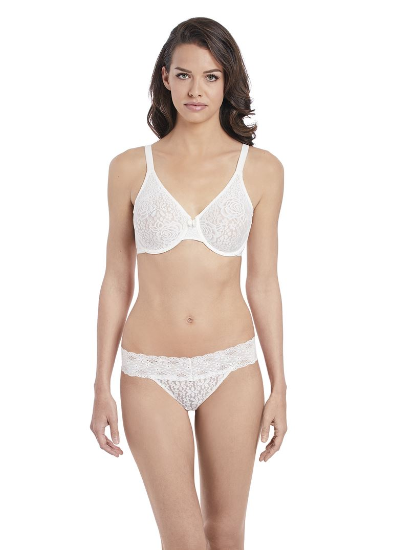 b9cf4510ec Wacoal Halo Lace Underwire MOULDED Stretch Lace Non Padded J Hook Bra  851205. About this product. Picture 1 of 4  Picture 2 of 4 ...