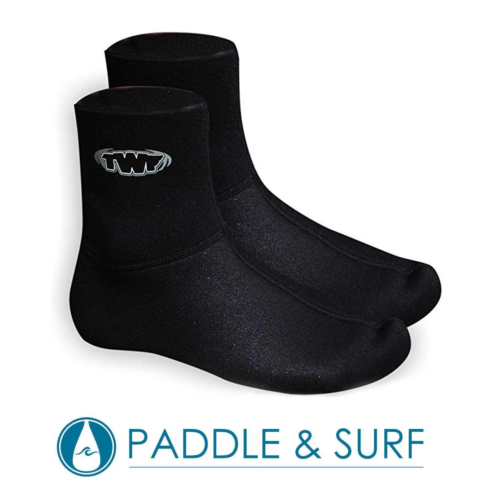 TWF 3mm Neoprene Junior Kids Watersports Mausered Sox