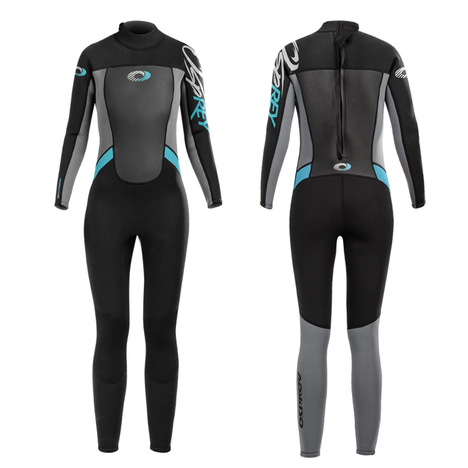 c869f5bc58d7 Details about Osprey Boys Girls 5mm Wetsuit Full Length Junior Long Kids  Childs Surf Winter