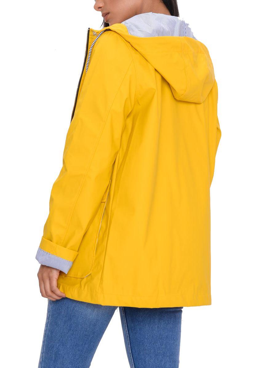 Women/'s Waterproof Rain Mac Coat Festival  Hooded Jacket White