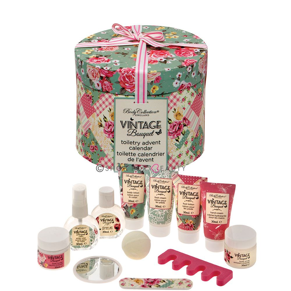 Christmas Bathroom Sets Amazon: Body Collection Vintage Bouquet Toiletry Christmas Xmas