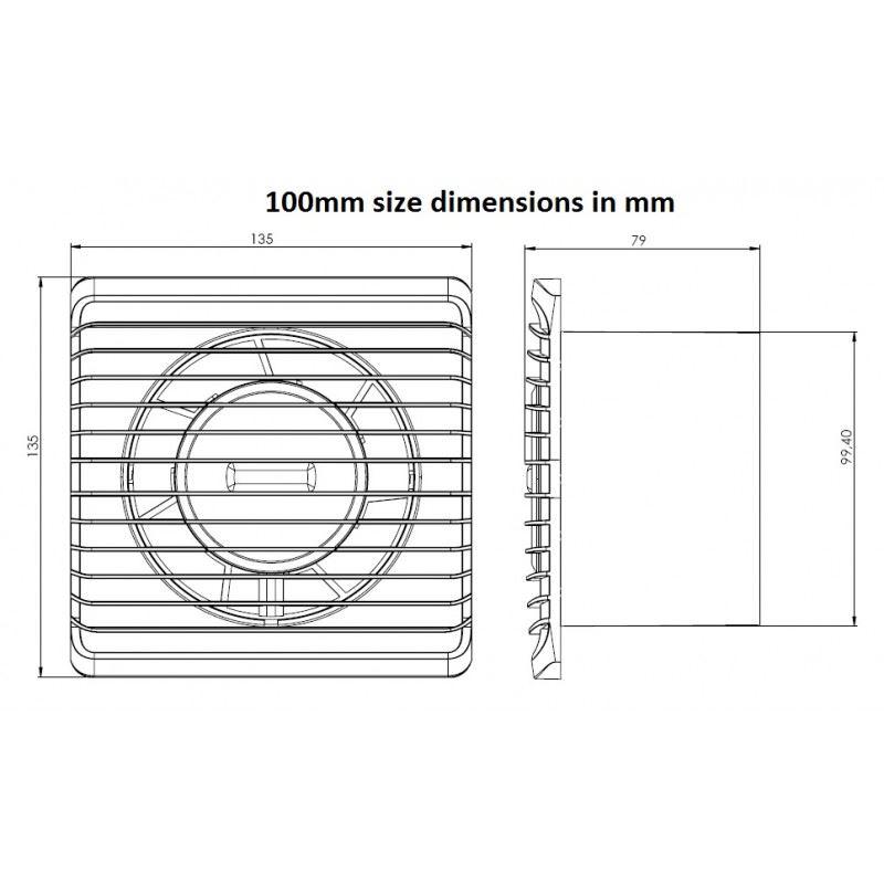 Ventilateur extracteur de salle de bain silencieux for Extracteur salle de bain silencieux